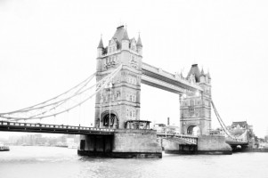 Black & White Tower Bridge