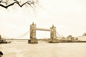 Sepia Tower Bridge