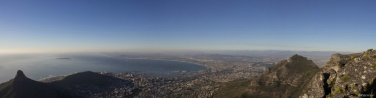 Lion's Head and Cape Town Panorama