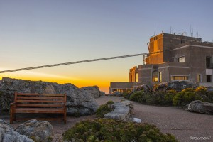 Cable Car Station At Top of Table Mountain