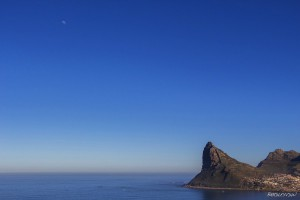 Hout Bay and the Moon