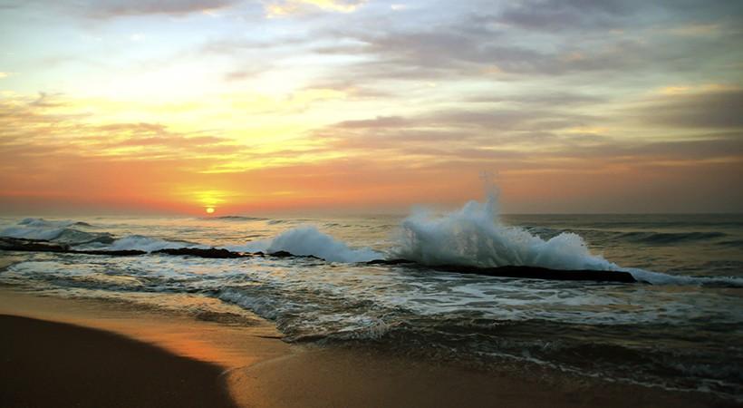 Top Tweet Of Year >> Ballito Ocean Sunrise by Ken Mann | Digital Gallery