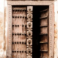 East African villages and doors