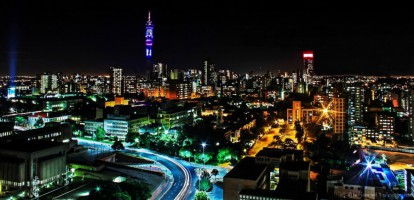 Hillbrow by night