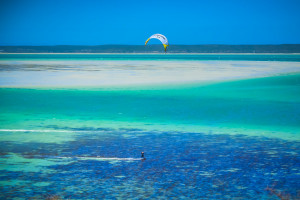 Kite Surfing, Langebaan, South Africa