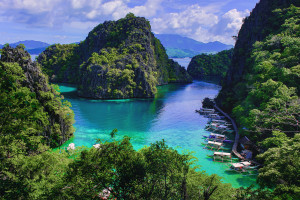Landscapes of Coron, Philippines