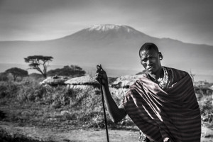 Maasai and the mountain 2
