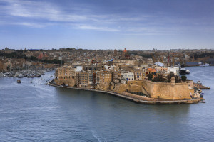 City View of Valetta, Malta